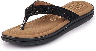 BATA Women Diamonte Flip-Flops