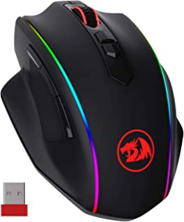 Redragon M686 Wireless Gaming Mouse, 16000 DPI Wired/Wireless Gamer Mouse with Professional Sensor, 45-Hour Durable Power ...