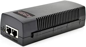 iCreatin Gigabit Ultra PoE+ Injector Adapter w/ 60W Power Over Ethernet for 802.3af /at/Ultra PoE Devices, PSE-480125G