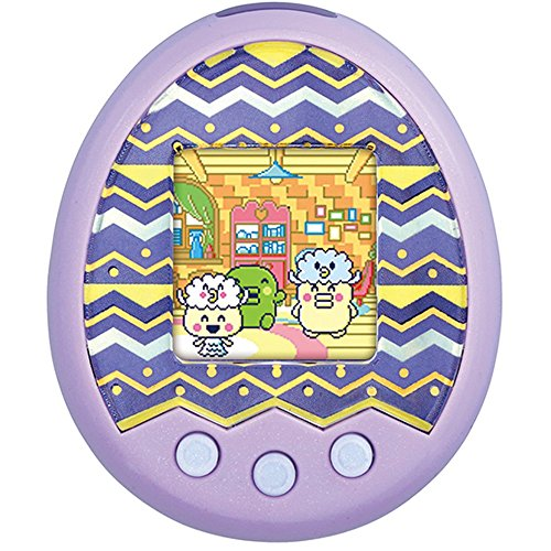 BANDAI Tamagotchi Medium. X (Tamagotchi Try Smog) Spacy Medium. X Ver. Purple Japanese Version