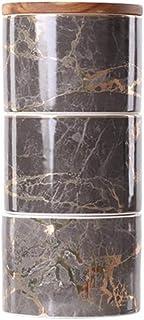 3pcs / Set Céramique contenants Pot de rangement for les épices thé Le café peut Citerne alimentaire Bouteille Récipient a...
