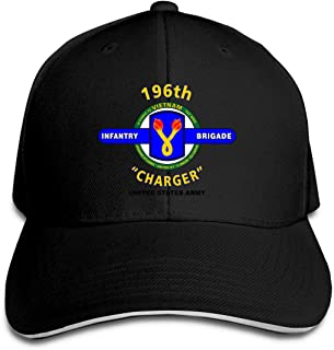 196 Infantry Brigade Vietnam Baseball Caps Sandwich Caps