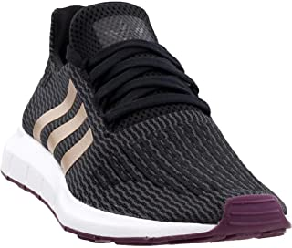 adidas Women's Swift Run Shoe Core Black/Ash Pearl/White 9.5 B(M) US