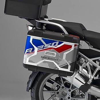 2pcs adh/ésif R1250GS Adventure Compatible avec Les Motos Motorrad R1250 GS R 1250 HP Touratech y GIVI Trekker Outback 37L 48L Black