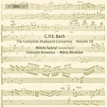 Bach: Complete Keyboard Concertos, Vol. 18