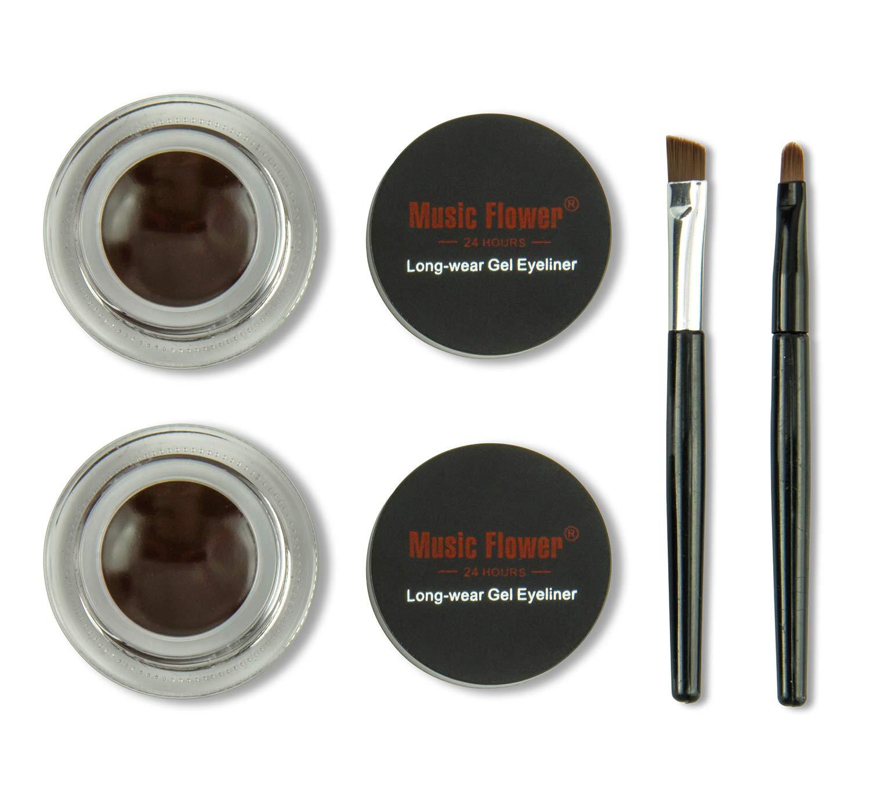 Frola 2 In 1 Long-wear Smudge-proof 2021 Popularity model L Waterproof Eyeliner Gel