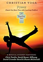 Christian Yoga Classic Power DVD with Courtney Chalfant - A Musical Journey with Chris Tomlin, Hillsong, David Crowder Band, Shawn McDonald & David Bauer