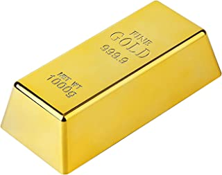 Fake Gold Bar Bullion Door Stop/Paperweight for Home Office Decoration