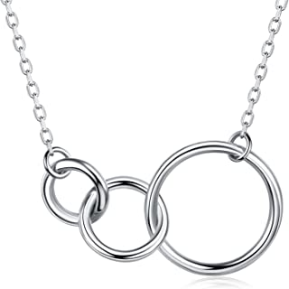 Best three ring necklace Reviews