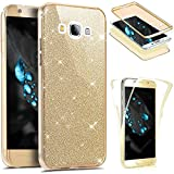 JAWSEU 360 Degree Case Compatible with Galaxy On7 2015,