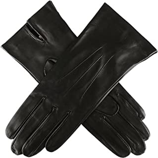 Dents Womens Joanna Classic Unlined Hairsheep Leather Gloves - Black