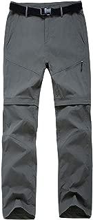 Women's Quick Dry Hiking Pants Lightweight Outdoor Pants Convertible Shorts