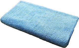 コネクト マイクロファイバー タオル 超極細繊維 ふわふわタイプ スポーツ 40cm×110cm ブルー