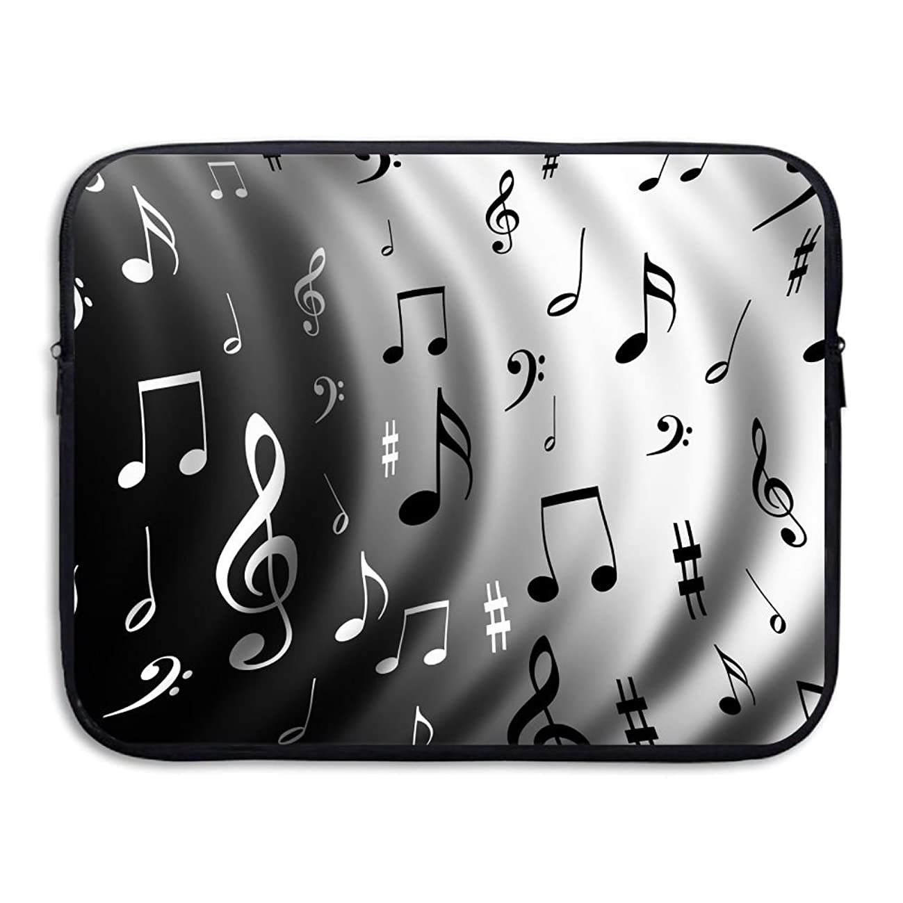 Music Notes Business Briefcase Laptop Sleeve For Macbook Pro Air Lenovo Samsung Sony