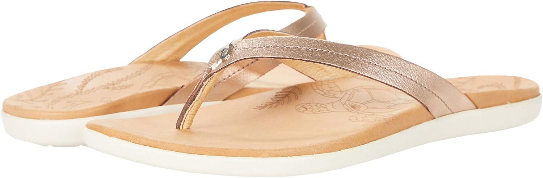 OluKai Honu Women's Beach Sandals W free Washington Mall Slides Quick-Dry Flip-Flop