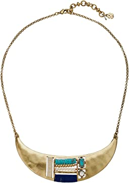Beaded Inset Collar Necklace
