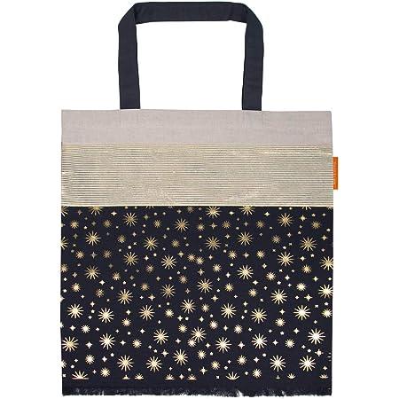ARTEBENE Baumwolltasche Shopper Stoffbeutel Lieblingstasche 100% Baumwolle Sternenregen