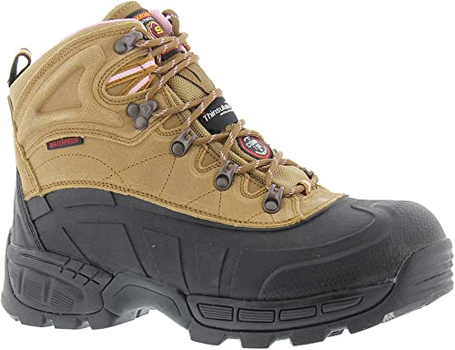 Skechers Work Radford-Ligonier Wohommes démarrage 7.5 B(M) US Light marron