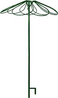 Louis Moulin 3644 Tuteur Parapluie avec 9 Pétales Métal Vert Sapin 250 cm