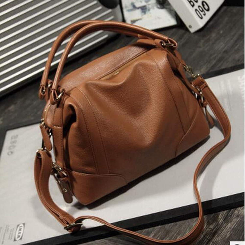 Lianaizog Damenhandtasche Weiche Einfarbige Lederhandtasche Damen Umhängetasche B07KW7KBVK B07KW7KBVK B07KW7KBVK  Jahresendverkauf fad89a