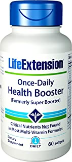 Life Extension Once-Daily Health Booster, 60 Softgels