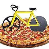 ZAWTR Roulette à Pizza Vélo, Coupe Pizza de Vélo Trancheuse de Roue de Pizza, Double Couteau à Pizza en Acier Inoxydable,...