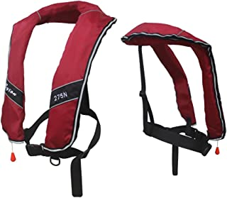 Premium Quality Automatic/Manual Inflatable Life Jacket Life Vest Inflate Survival Aid PFD 275N Buoyancy XXXL Size for Adult New