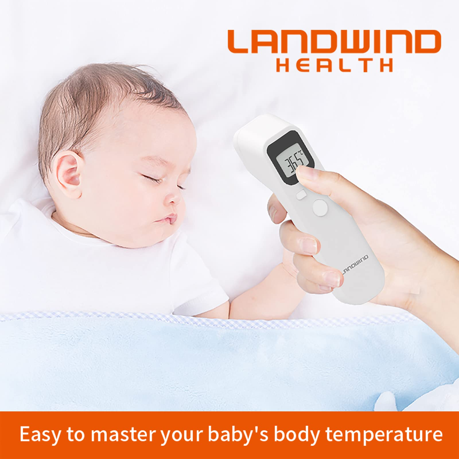 Infrared Thermometer for Adults-Digital Medical Thermometer- Forehead thermometers for Kids-Non Contact themometer for Adults, Babies, Children and Indoor use
