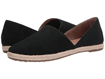 Me Too Sunny (Black Split Suede) Women