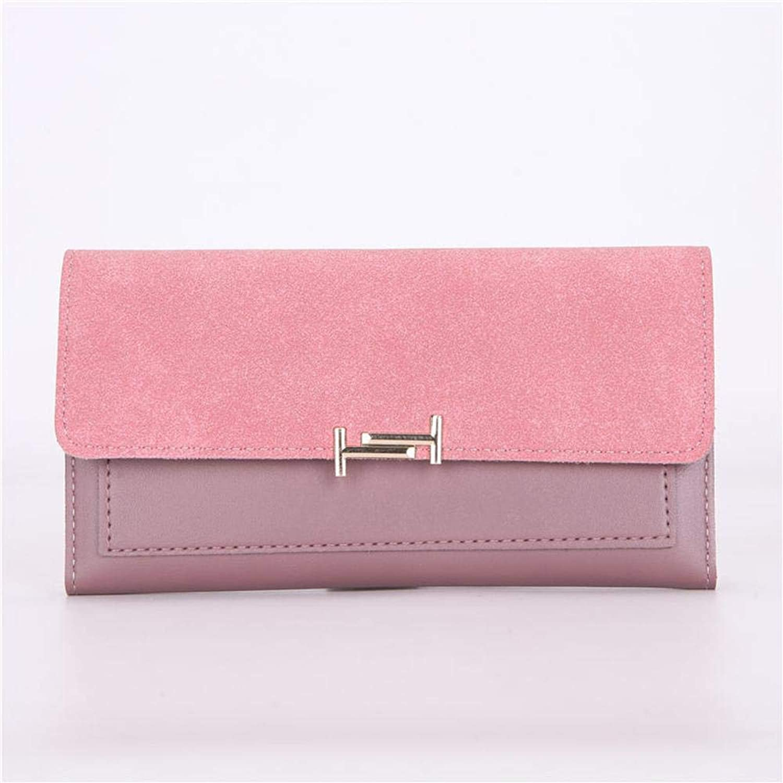 Girls Purse Women's Wallet,Ladies Purse Long Clutch Bag 30 Percent Hand Clutch PU Wallet (color   A)
