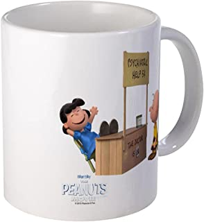 CafePress Charlie Brown And Lucy Peanuts Movie Mug Unique Coffee Mug, Coffee Cup