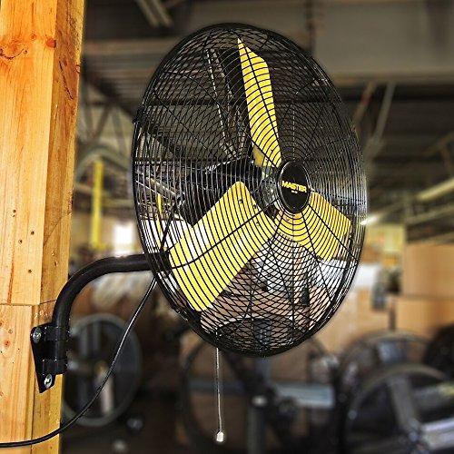 Master Professional High Velocity Wall Fan 3 Speed MAC-30W 6,000 CFM 30-inch OSHA Compliant