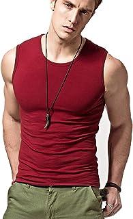 قميص رجالي بدون أكمام رياضي ضاغط يبرز العضلات بدون أكمام من Acooe