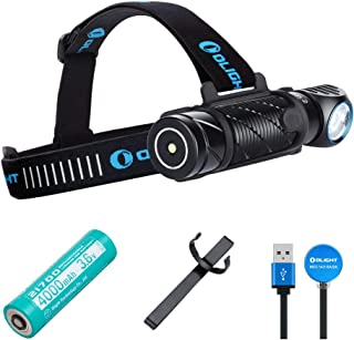 OLIGHT Perun 2 2500 Lumens Ultra-compact Cool White Rechargeable LED, Multi-functional Right Angle MCC Rechargeable Headla...