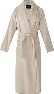 Massimo Dutti Women Handmade Melange Wool Coat 6402/506