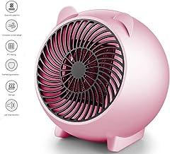 Wing Radiador convector Calentador portátil Space, Calentador Ventilador portátil con termostato Ajustable y protección contra sobrecalentamiento Calentador eléctrico Personalpowder