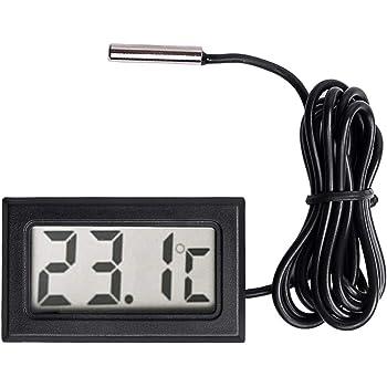 Sonde Neuftech® LCD Thermomètre à Frigo Réfrigérateur Digital