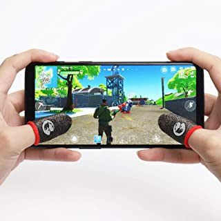 GameSir Talons Mobile Game Controller Finger Sleeve Sets [1 Pack], Anti-Sweat Breathable Full Touch Screen Sensitive Shoot...