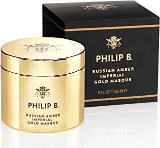 Philip B Russian Amber Imperial Gold Masque, 8 Ounce