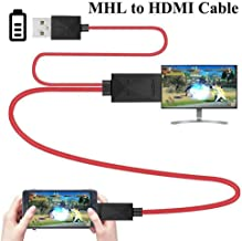 1080P MHL Micro USB to HDMI HD TV Cable Adapter for Samsung Android Smart Phones