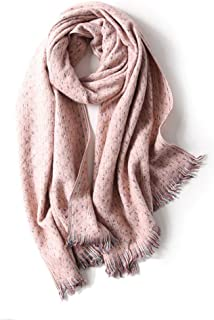 Scarf small fragrance color matching cashmere female autumn and winter thick warm scarf wild long paragraph 200 * 68CM