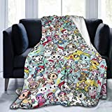 Cozy Soft Flannel Blanket Luxury Tokidoki Bed Throw Blanket Throw Blanket Ultra Soft Thick Microplush Bed Blanke