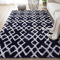カラフルなカーペット、柔らかくふわふわの豪華な、寝室の家の装飾に使用され、余分な柔らかさ、利用可能なさまざまな色とサイズを提供します-style13_140x200cm
