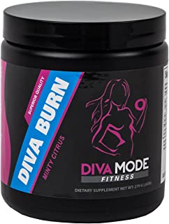 Best Caffeine Free Thermogenic Fat Burner, Appetite Suppressant, Energy Boosting Advanced Diet Weight Loss Supplement for Women - Diva Burn