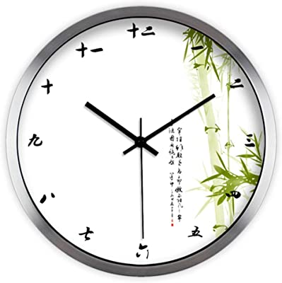 GRTEW CCYYJJ Wall Clock Quiet Quiet,China Digital Not Tick Simplicity Creative Personality Decorative Clock