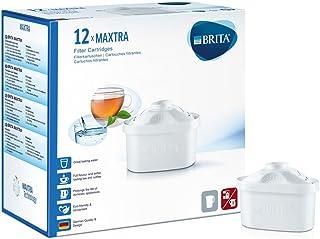 Brita Pack de 12 Cartouches MAXTRA + pour Carafes Filtrantes