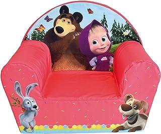 Fun House Masha et Michka 713340 - Sillón Infantil Original de Francia