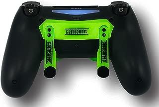 PS4 Elite Controller Adjustable Paddles, GM Master Mod, Trigger Stops, Modded Controller Mod Custom Green Rapid Fire, Drop Shot, Quickscope COD Black Ops 3, Infinite Warfare, MW Remastered