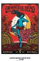 RareポスターFare Thee Well Grateful Dead 2015Concert再印刷# ' d / 10012x 18