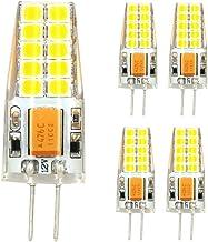 LED Lamp 5 Pcs 3W G4 LED Bulb Lights T20 SMD 2835 280-300 Lm Warm White/Cool White 3000K/6000K AC/DC 12V Green Product (Co...